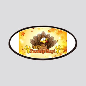 Happy Turkey Day Patch
