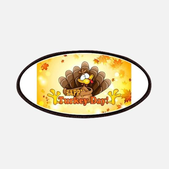 Happy Turkey Day Patch