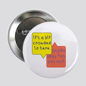 crowded womb - twins Button
