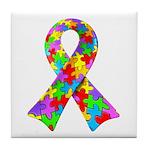 3D Puzzle Ribbon Tile Coaster