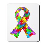 3D Puzzle Ribbon Mousepad