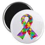 3D Puzzle Ribbon Magnet