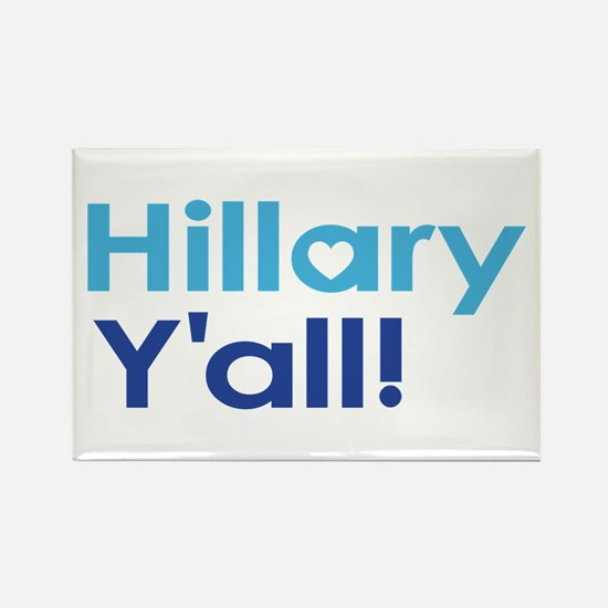 Hillary Y'all Magnets