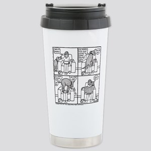Poppy The Lapdog Stainless Steel Travel Mug