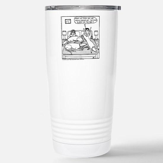 Lap Dog Stainless Steel Travel Mug
