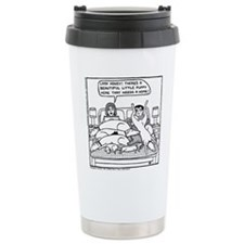 On The Sofa Stainless Steel Travel Mug