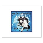 Cat Capricorn Small Poster