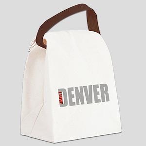 My Denver Canvas Lunch Bag