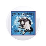 "Cat Capricorn 3.5"" Button (100 pack)"