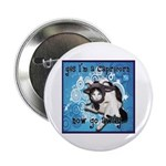 "Cat Capricorn 2.25"" Button (100 pack)"