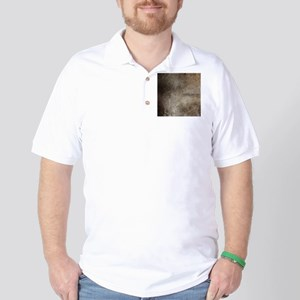 Old Vintage Grunge Grey Texture Distres Golf Shirt