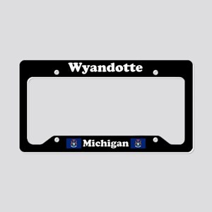 Wyandotte MI - LPF License Plate Holder