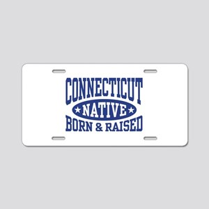 Connecticut Native Aluminum License Plate