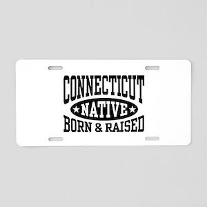 Connecticut Native Aluminum License Plate