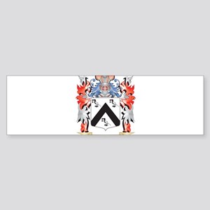 Guillermo Coat of Arms - Family Cre Bumper Sticker