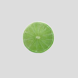 Slice of Lime Mini Button