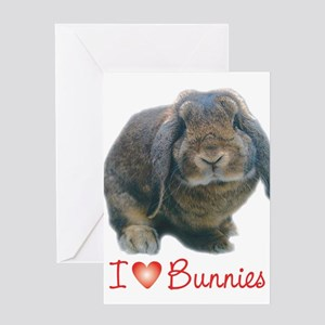 bunny lover Greeting Cards