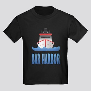 Bar Harbor Boat Front T-Shirt