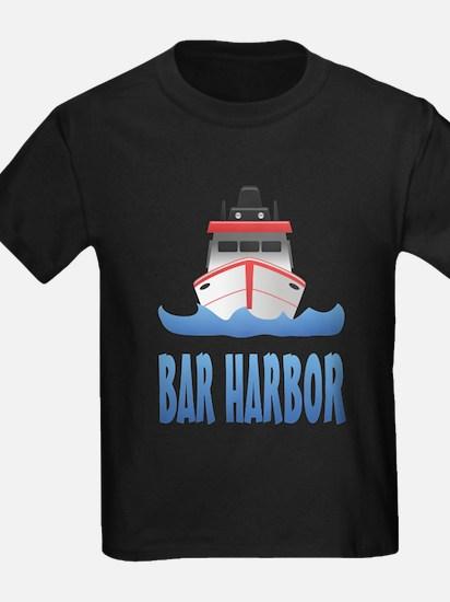 Bar Harbor Boat Front T-Shirt