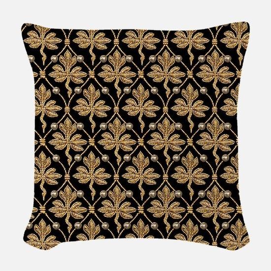 Queen Elizabeth I. Phoenix Por Woven Throw Pillow