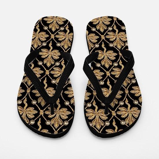 Queen Elizabeth I. Phoenix Portrait Flip Flops