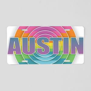 Austin Aluminum License Plate