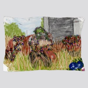 Tractor Eulogy Pillow Case