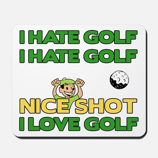 Golf Fun Mousepad
