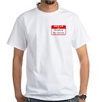 Hello I'm WMO White T-Shirt