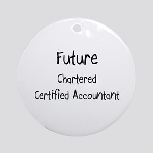 Future Chartered Certified Accountant Ornament (Ro