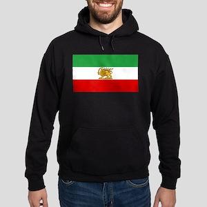 Flag of Persia / Iran (1964-1980) Hoodie (dark)