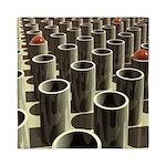 Stockyard of Cylinders Queen Duvet