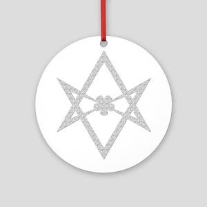 Thelema Symbol Round Ornament
