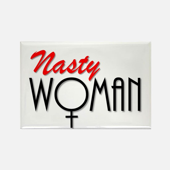 Nasty Woman Rectangle Magnet