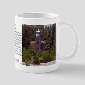 Bois Blanc Lighthouse Mugs