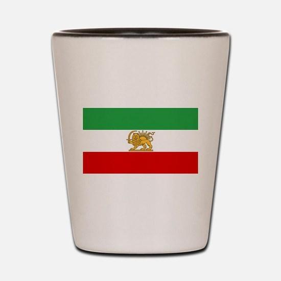 Flag of Persia / Iran (1964-1980) Shot Glass