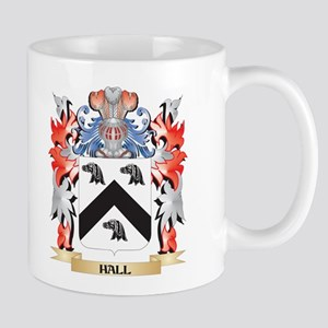Hall Coat of Arms - Family Crest Mugs
