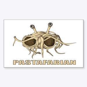 Pastafarian 3x5 Sticker