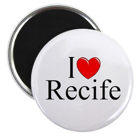 """I Love Recife"" Magnet"