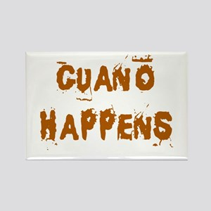 Guano Happens Rectangle Magnet