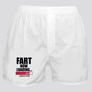 Fart Now Loading...Funny Boxer Shorts