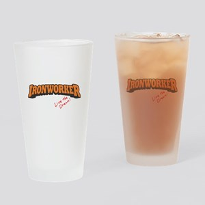Ironworker - LTD Drinking Glass