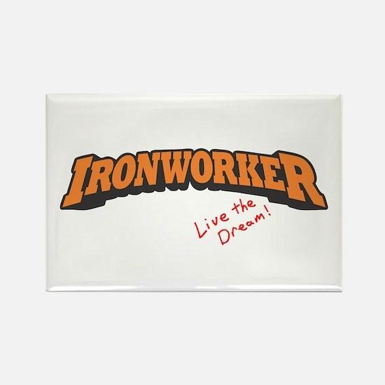 Ironworker - LTD Rectangle Magnet