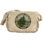 Save Georgia's Hemlocks Messenger Bag