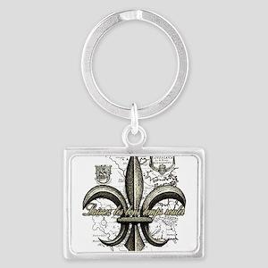 New Orleans Laissez les bons temps Keychains