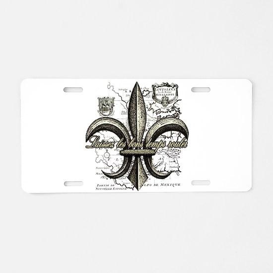 New Orleans, Laissez les bo Aluminum License Plate