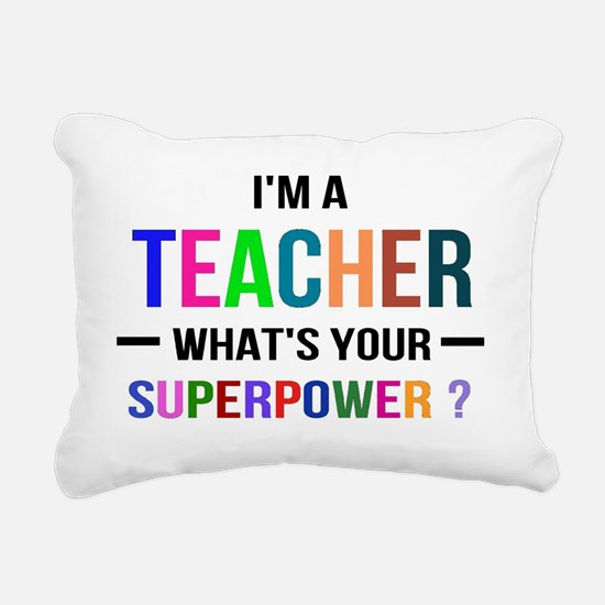 Cute Faculty Rectangular Canvas Pillow