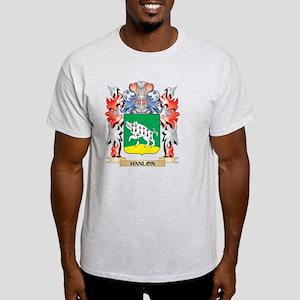 Hanlon Coat of Arms - Family Crest T-Shirt