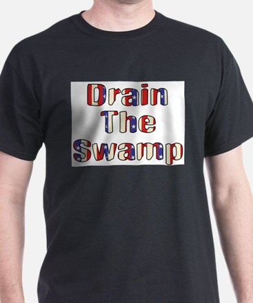Drain The Swamp: Phase Two Ash Grey T-Shirt