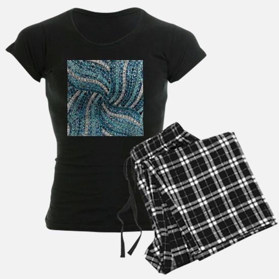 bohemian crystal teal turquo Pajamas